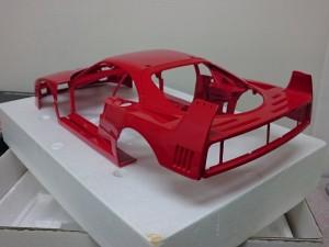 ポケール 1/8 フェラーリ F40 リバロッシ  メタル ボディパーツ2