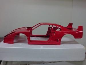 ポケール 1/8 フェラーリ F40 リバロッシ  メタル ボディパーツ3