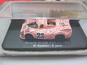 スパーク 1/87  ポルシェ 917/20 LM 1971 ピンクピッグ