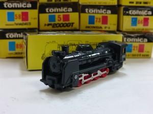 トミカ 104 D51 蒸気機関車