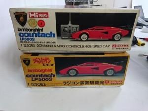 三和 ラジコン ランボルギーニ カウンタック LP500Sを埼玉県越谷市より出張にてお譲りいただきました