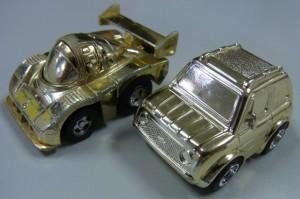 金メッキシリーズのどっ金チョロQ