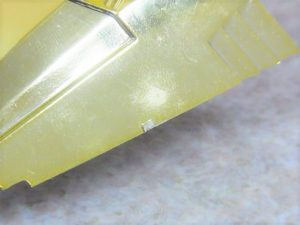 ロッテ レーサーミニ四駆 サンダードラゴンJr.のボディの状態 2