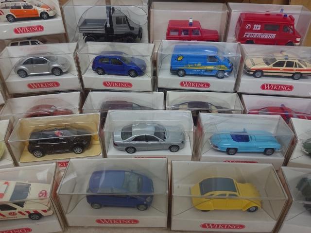 1/87ミニカーを大量に神奈川県厚木市のお客様より出張でお譲りいただきました