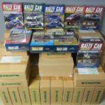 デアゴスティーニ 『隔週刊ラリーカーコレクション』全巻と特典DVDなどを埼玉県所沢市のお客様からお譲りいただきました