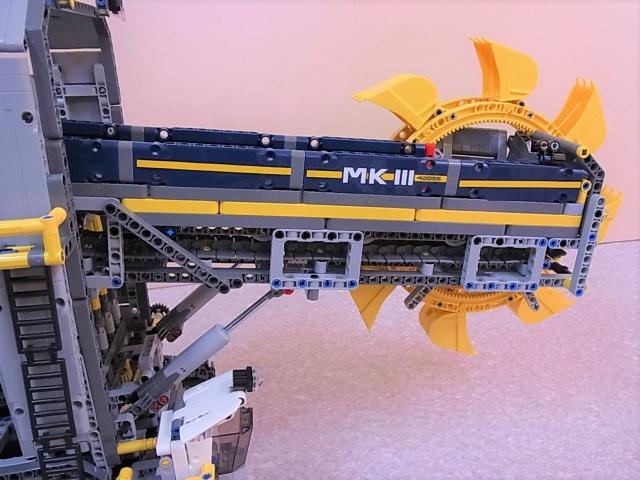 レゴ テクニック バケット掘削機 2
