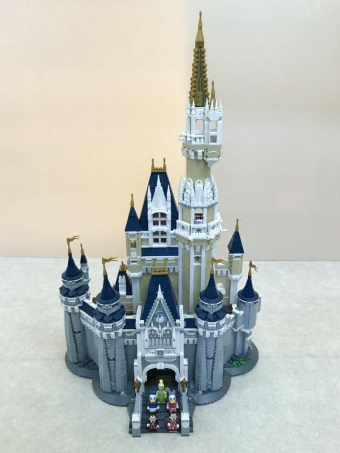 LEGOディズニープリンセス『シンデレラ城』組立済を茨城県土浦市より出張買取にてお売りいただきました