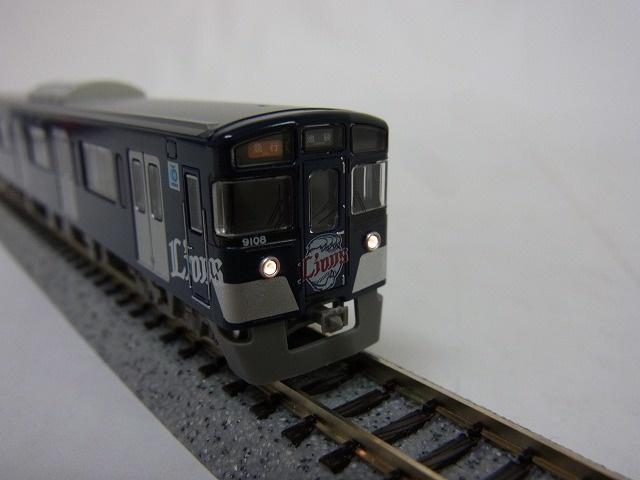 グリーンマックス  西武9000系(9108編成・L-train)基本4両編成セット 先頭車