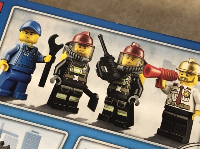レゴシティ 消防隊スタートセット 3