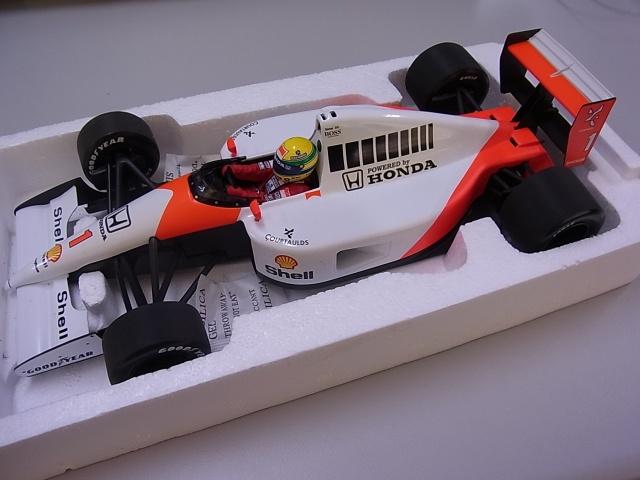 マクラーレン・ホンダ MP4/6 セナ 1991 ワールドチャンピオン