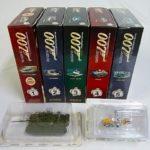 アシェット『007 ボンドカー・コレクション』全5巻と定期購読特典を千葉県船橋市から宅配にてお売りいただきました