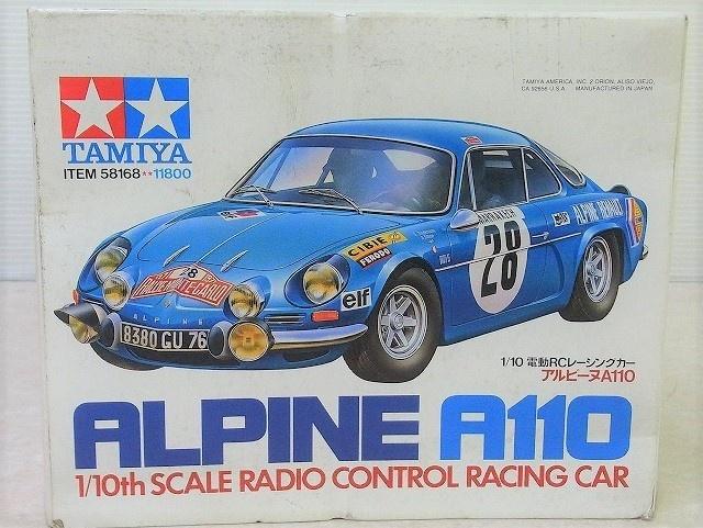 タミヤ 1/10 電動RC レーシングカー アルピーヌ A110