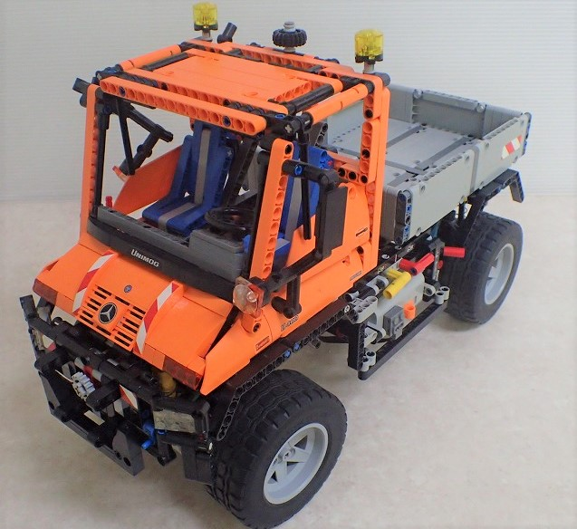 レゴ テクニック 8110 ウニモグ U400