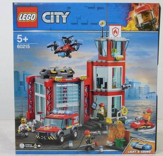 レゴ シティ 消防署