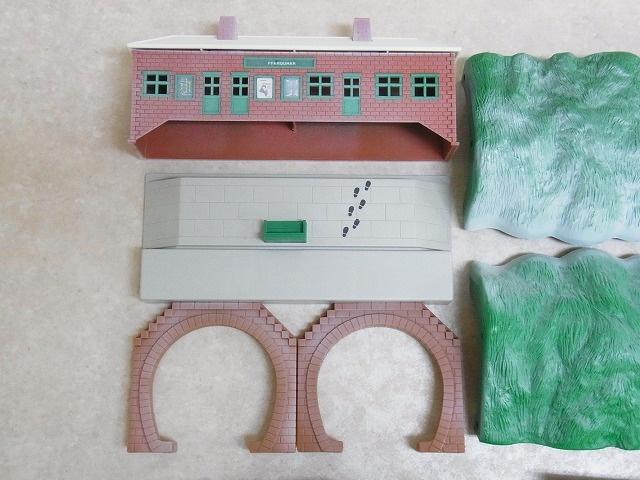 プラレール ドナルド&ダグラス 雪かき列車セット 冬期限定セット の一部