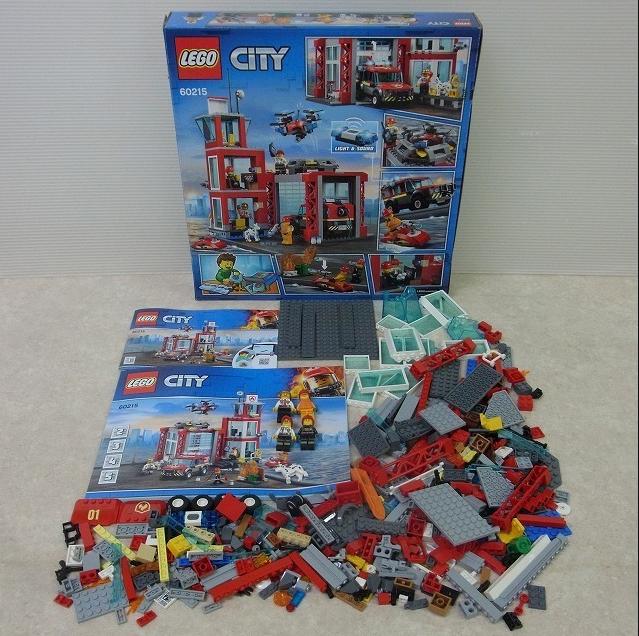 レゴ シティ 消防署 中身