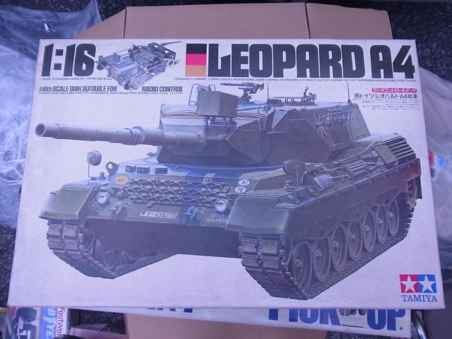 1/16 RCタンク レオパルドA4戦車