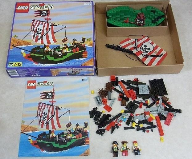 レゴ システム 南海の勇者 レッドビエント号やバラレゴなど大阪府大阪市から宅配にてお売りいただきました