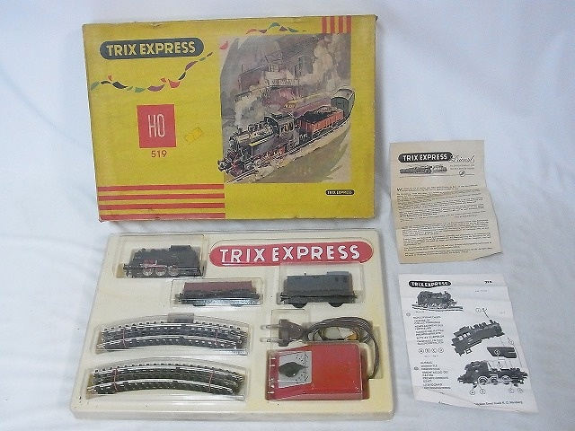 TRIX EXPRESS 519 TRIX 80020 蒸気機関車(HOゲージ)を神奈川県平塚市から宅配でお売りいただきました