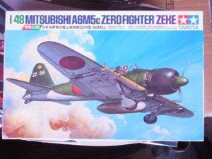 タミヤ 日本海軍零式艦上戦闘機52丙型