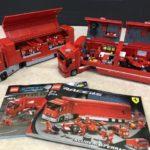 LEGOスクーデリア・フェラーリトラックセットを埼玉県さいたま市より宅配にてお譲りいただきました