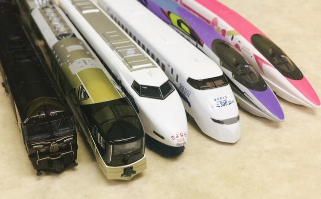 KATO『四季島』『ななつ星』TOMIX『さよならシリーズ』などのNゲージ鉄道模型を山梨県富士吉田市より宅配にてお譲りいただきました