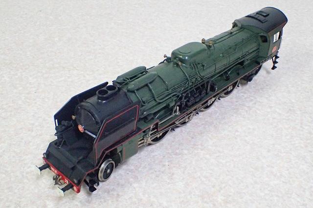フルグレックス フランス国鉄241P形蒸気機関車(Oゲージ)を静岡県富士市より宅配にてお譲りいただきました