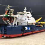LEGOテクニック『海洋調査船』組立済を新潟県新潟市より宅配買取にてお譲りいただきました