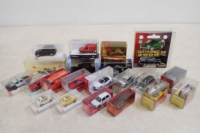 「herpa」「BUSCH」など1/87スケール他 小さなミニカーを長野県松本市より宅配にてお譲りいただきました