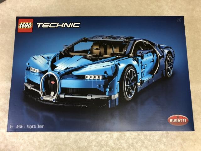 LEGO TECHNIC『BUGATTI Chiron』(42083)