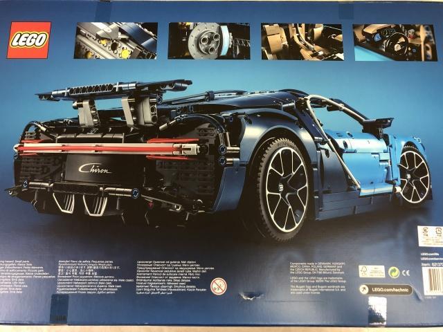 LEGO TECHNIC『BUGATTI Chiron』(42083) 2