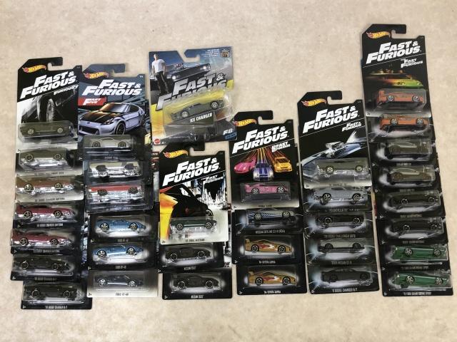 『ワイルド・スピード』シリーズのホットウィールを千葉県柏市より出張買取にてお譲りいただきました