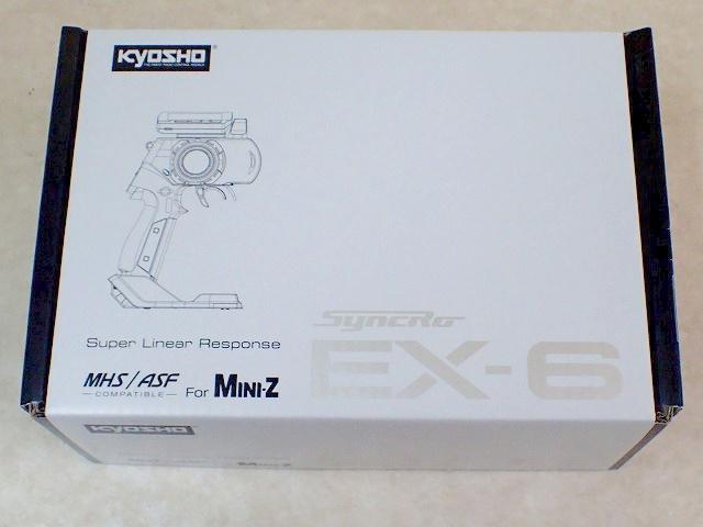 MHS/ASF コンパチブル 2.4GHzシステム送信機 Syncro EX-6