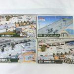 KATOジオタウン『駅前セット』3種類と『公園・駐車場セット』を茨城県水戸市より宅配にてお譲りいただきました