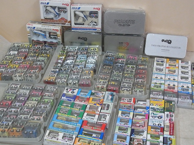 チョロQ ANAディスティネーションセットやチョロQバス多数を千葉県松戸市より出張にてお売りいただきました