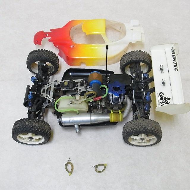 京商 1/8 インファーノ MP-5 OS MAX RZ 21 ボディ