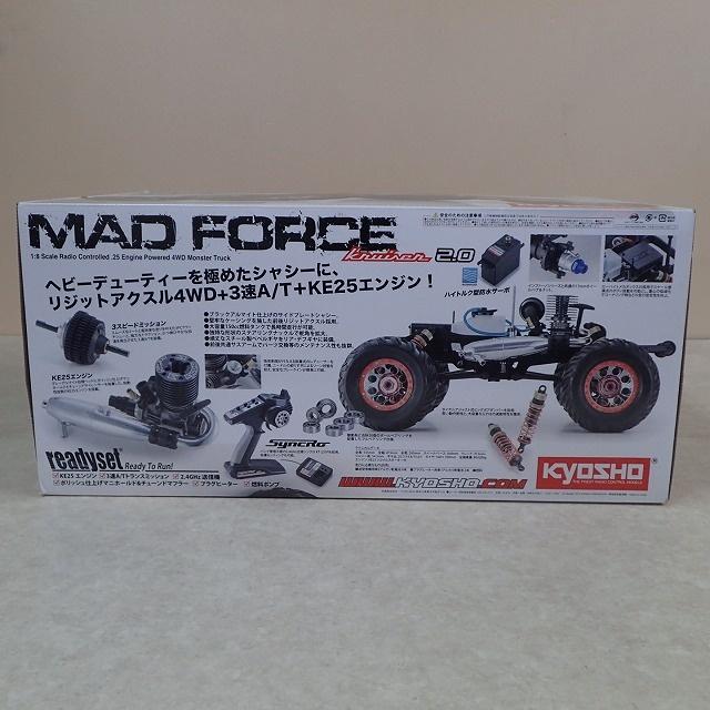 京商 マッドフォースクルーザーGP 2.0 1/8 GP 4WD モンスタートラック 箱