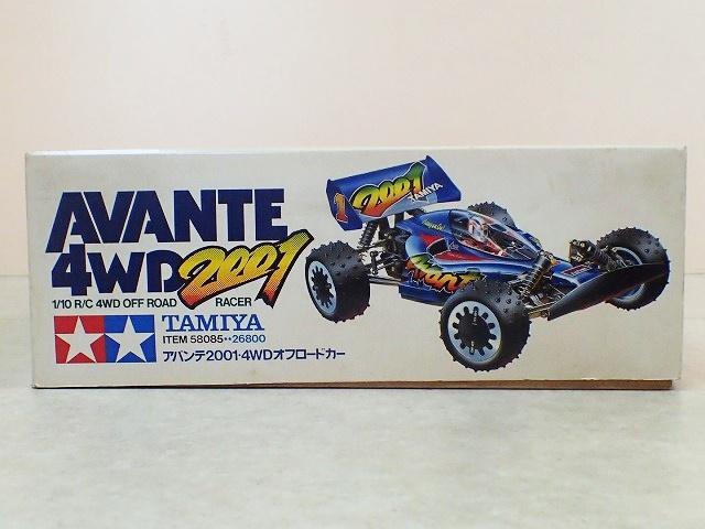タミヤ1/10アバンテ2001 4WDオフロードカー 2