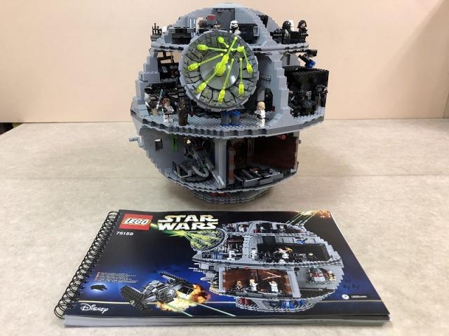 【LEGO】STAR WARSデス・スター(組立済)を富山県富山市より宅配買取にてお譲りいただきました。