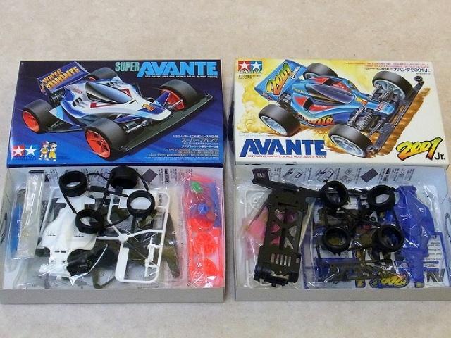 【宅配買取】ミニ四駆 スーパーアバンテやアバンテ2001 Jr.等を茨城県取手市よりお売りいただきました