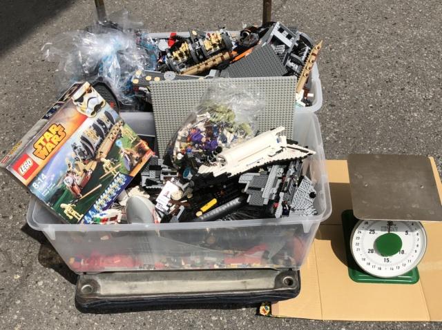 【宅配買取】レゴ バトルドロイド トループ キャリアー、バラレゴ30㎏、フィグ60体を北海道函館市よりお売りいただきました