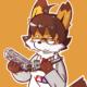 居眠富士狐