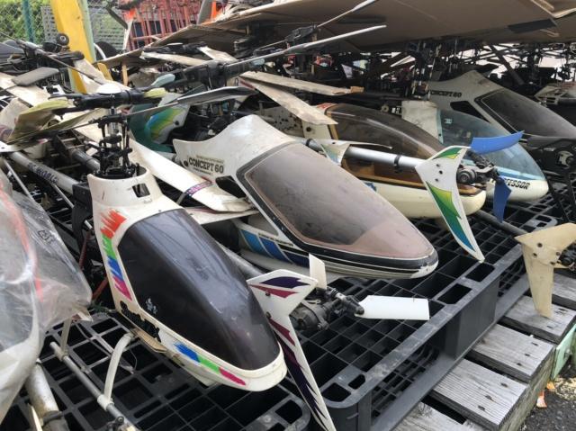 【出張買取】ラジコンヘリコプター、プロポを大量に東京都八王子市にてお譲りいただきました