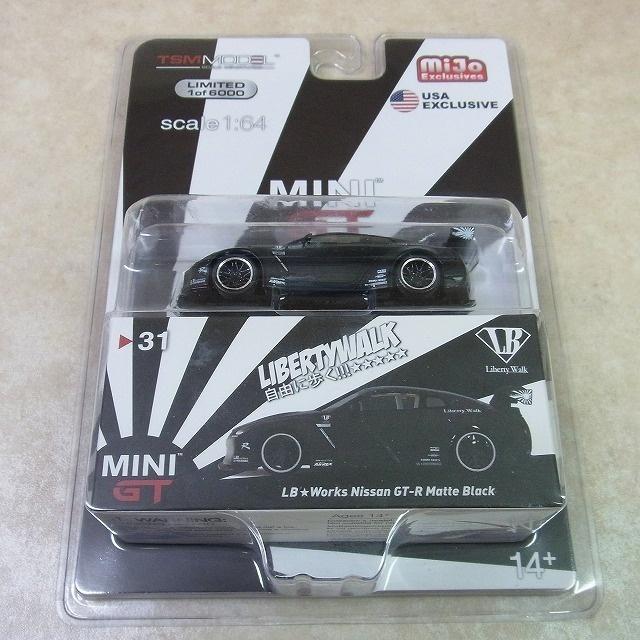未開封 TSM MINI GT 1 64 リバティウォーク 日産 GT-R R35 タイプ1