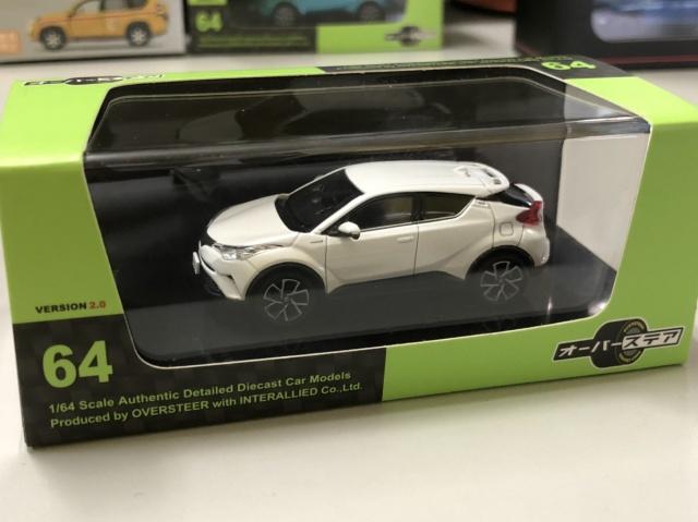 インターアライド オーバーステア Toyota C-HR ホワイトパール クリスタルシャイン