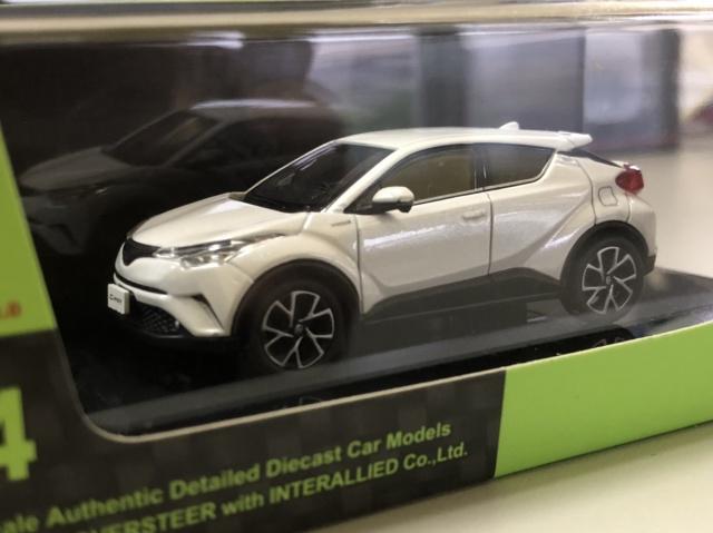 インターアライド オーバーステア Toyota C-HR ホワイトパール クリスタルシャイン アップ写真