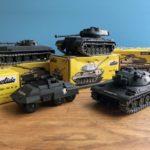 【宅配買取】Solido/AMX-30やM-47パットンなど戦車ミニカーを大阪府堺市よりお譲り頂きました