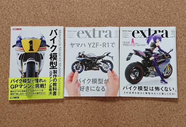 ホビージャパン バイク模型特集冊子