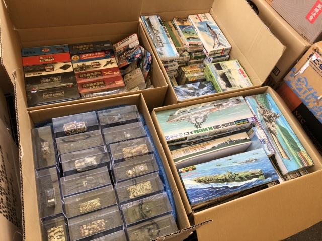 【出張買取】1/700 ウォーターラインシリーズ 翔鶴、天城など船舶模型、プラモデル多数を栃木県宇都宮市よりお売りいただきました