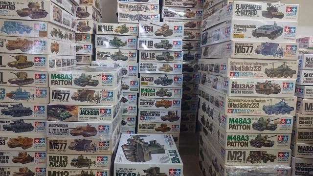 【出張買取】タミヤ、ドラゴン、アカデミー、トランぺッターなど戦車/戦闘機プラモデル多数を大阪府豊中市よりお売りいただきました
